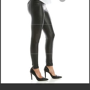 Limited moto faux leather leggings